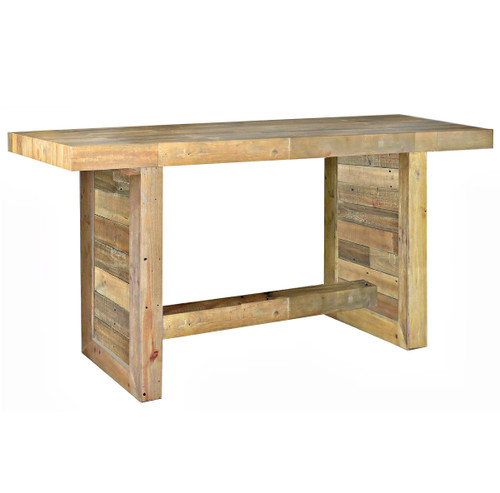 Angora Natural Reclaimed Wood Counter Height Dining Table