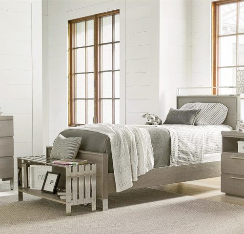 Techstyle Patchwork Upholstered Bedroom Bench Reviews: Grayson Modern Kids Bed End Bench