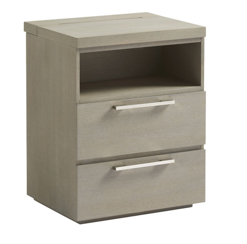 Grayson Modern 2 Drawers Nightstand