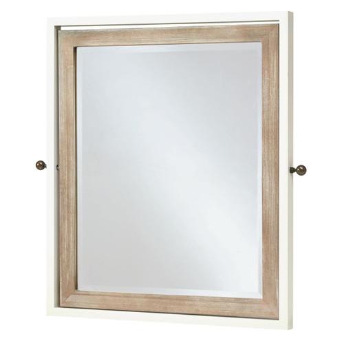 #MyRoom Modern Kids Tilt Mirror - White & Gray