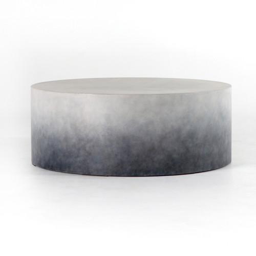 Sheridan Concrete Coffee Table Zin Home - Oval concrete coffee table