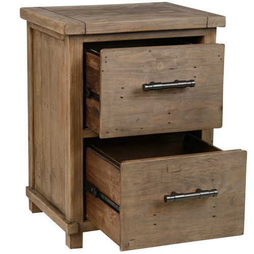 Delicieux ... Farmhouse Reclaimed Wood 2 Drawer Filing Cabinets ...