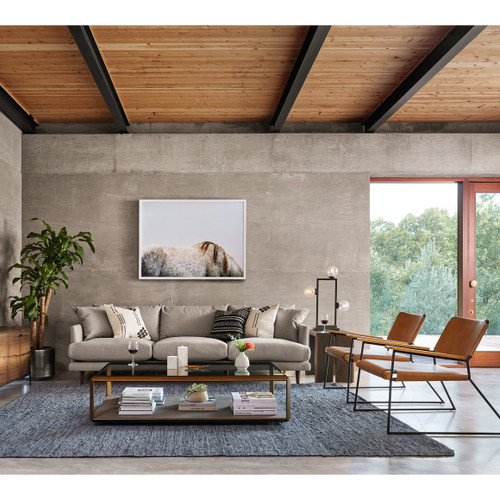 Living Room Ideas 2015 Top 5 Mid Century Modern Sofa: Newton Mid-Century Tan Leather Director Chair