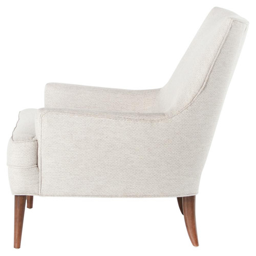 ... Danya Mid Century Modern Upholstered Club Chair ...