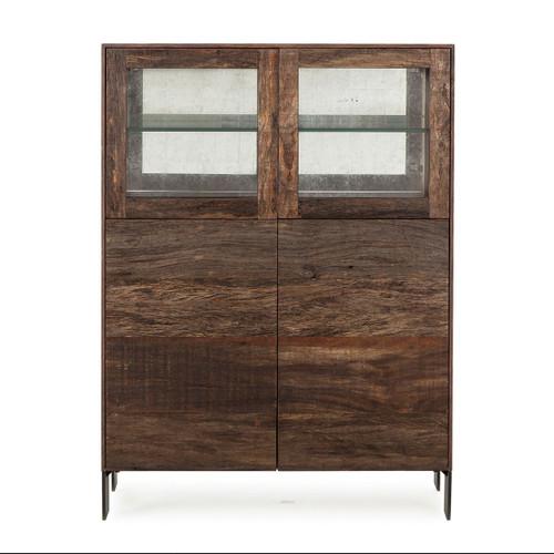 ... Resource Decor Cardosa Bar Cabinet   Peroba ...  sc 1 th 225 & Cardosa Reclaimed Wood + White Lacquer Bar Cabinet   Zin Home
