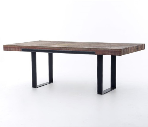 industrial furniture table. Graham Industrial Reclaimed Wood 84\ Furniture Table