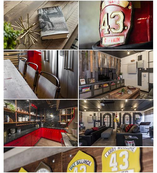 Dallas Fire House #43 Turned into Modern Industrial Loft