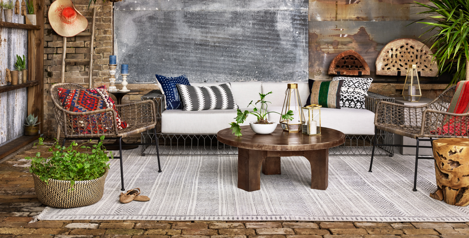 HOLIDAY FURNITURE SALE & Zin Home   Eclectic Modern \u0026 Industrial Style Furniture