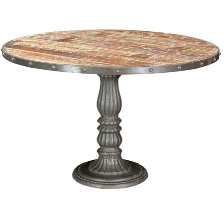 French Soda Fountain Round Table 47 Quot Zin Home