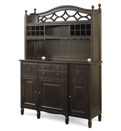kitchen cabinets country chic maple wood black kitchen buffet with bar 19820