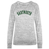 Women's long sleeve with arched 'Dartmouth' in green across chest