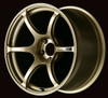 Advan RGIII - Racing Gold Metallic & Racing Gloss Black - 5x114.3 - 6-Spoke - 19x10.0 +35