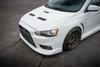 ***Sold***   2008 White Mitsubishi Lancer Evolution X GSR with SSS Package
