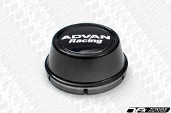 Advan Racing Center Cap 63 High Type- Black