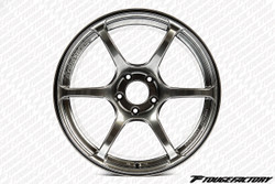 Advan RGIII - Racing Hyper Black - 4x100.0 - 6-Spoke - 18x7.0 +42