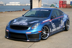 Charge Speed Front Bumper: FRP - Infiniti G35