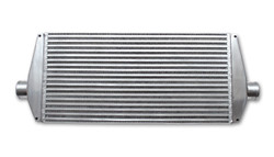 Vibrant Air-to-Air Intercooler with End Tanks - Up to 550HP
