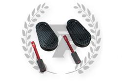 Aerocatch Plus Flush Non-Locking Hood Latch Pins - Carbon Fiber Look