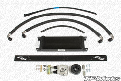 Jackson Racing Engine Oil Cooler Kit for NA Scion FR-S & Subaru BRZ