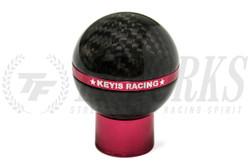 KEY'S RACING Carbon Fiber Shift Knob - Scion FRS/Subaru BRZ