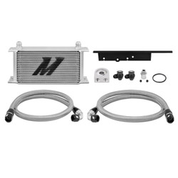 Mishimoto SIlver Oil Cooler Kit - 03-07 Infiniti G35 / 07-09 Nissan 350Z
