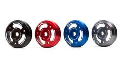 Grimmspeed Red Lightweight Crank Pulley - 2013+ Scion FR-S & Subaru BRZ, 2015+ Subaru Impreza WRX