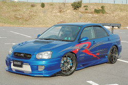 Voltex Front Bumper Street - 04-05 Subaru Impreza WRX / STi