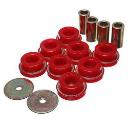 Energy Suspension Red Sub-Frame Bushing Set - 2015 Ford Mustang GT
