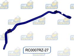 SuperPro Heavy Duty Rear Sway Bar - 3 Point Adjustable - 27mm - 08-15 Mitsubishi EVO X