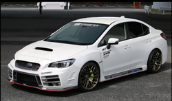 ChargeSpeed 2015-19 WRX 4Dr T3A Front Bumper FRP