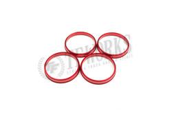 TF Aluminum Hubcentric Rings Evo 4 - 7 8 9 X Enkei NT03+M (67.1mm x 72.6mm)