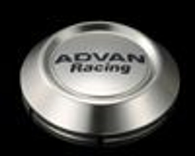Advan Racing Center Cap 63 Low Type- Bright Chrome