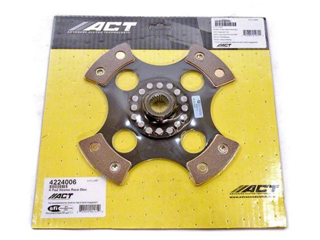 ACT 4 Pad Rigid Race Disc  - 01-05 Lexus IS300, 92-97 Lexus SC300