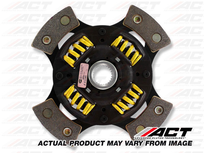 ACT Race 4-Pad Sprung Race Clutch Disc - 84-92 Toyota Corolla AE86