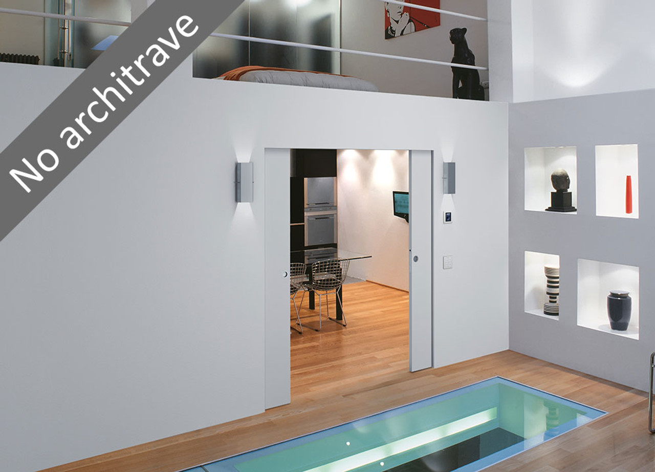 Eclisse Syntesis 174 Flush Pocket Door System For Double