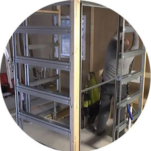 We say Eclisse pocket door systems are quick and easy to assemble but just how quick is that?