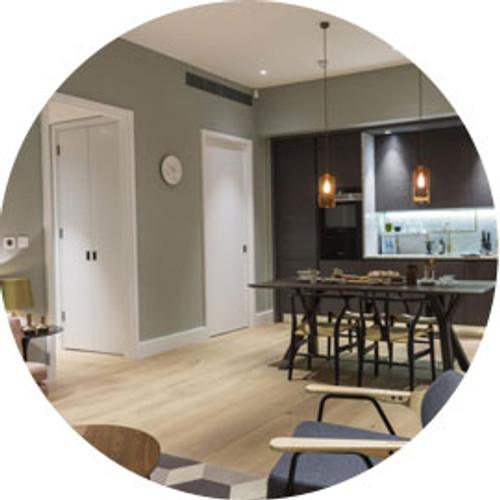 99 Eclisse pocket doors installed in exclusive Islington Square Development
