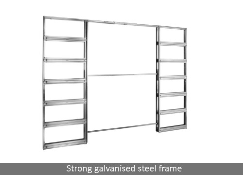 Eclisse Double Pocket Door System - Easy fit, FREE & fast delivery