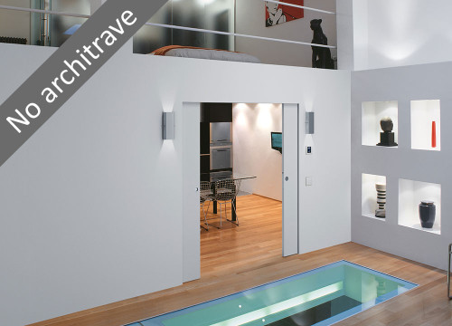 Flush Recessed Skirting Boards With The Syntesis 174 Flush