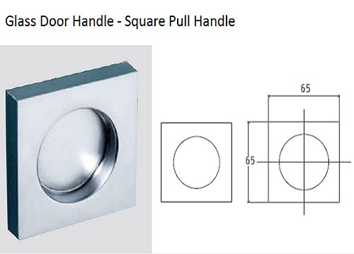 Square Pull Handle (V-522)