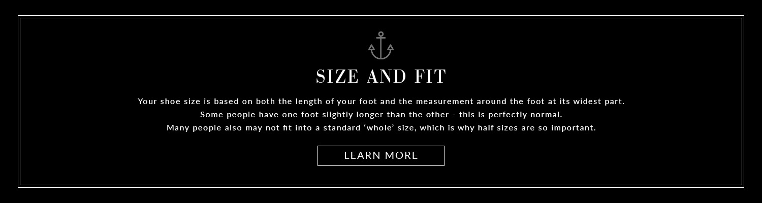 Size and fit
