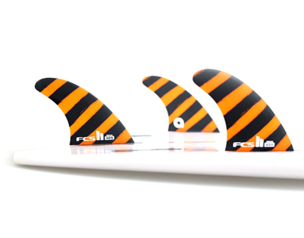 Fcs 2 Ads Pc Medium Adriano De Souza Fins Surfboard Fins