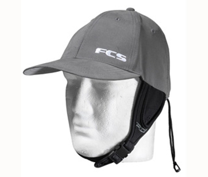 FCS Wet Baseball Cap Gun Metal Grey