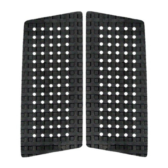 ASTRODECK 409 Christian Fletcher 2 Piece Front Foot Traction Pad Black