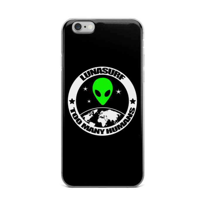 Too Many Humans iPhone case