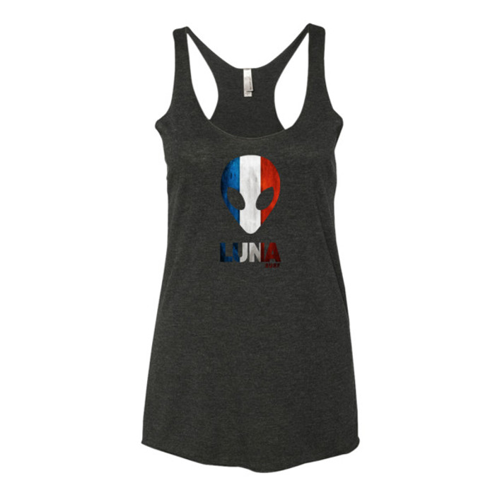 Luna France Tricolour Women's tank top