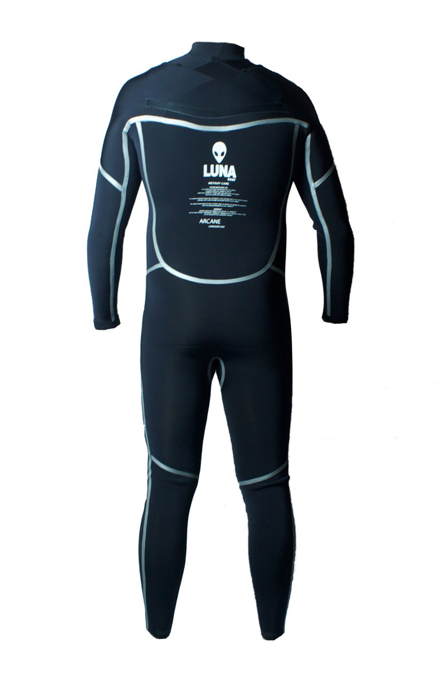 Lunasurf  Yamamoto 3/2mm Wetsuit Arcane Black