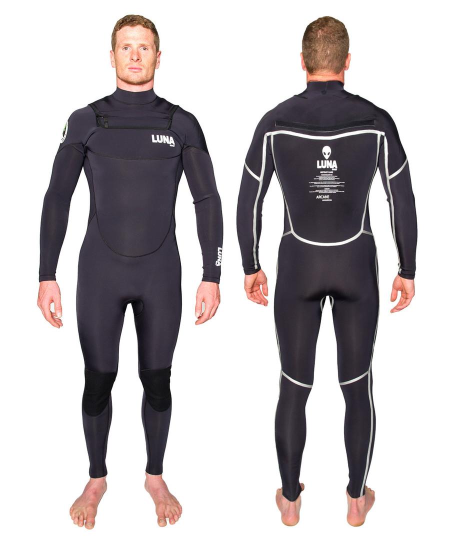 Lunasurf 3.2mm mens wetsuit