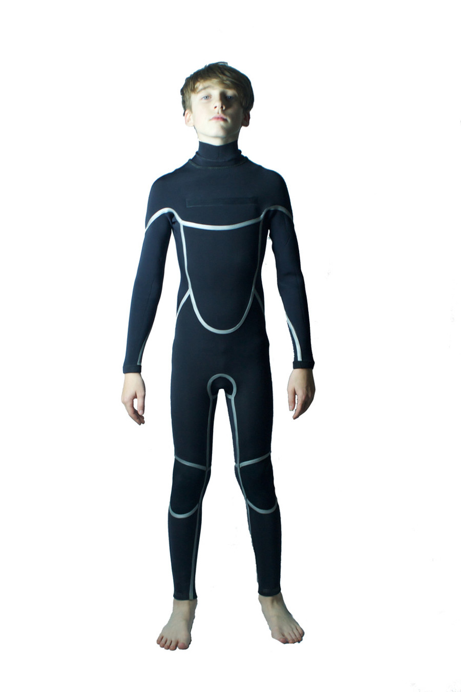 Inside out - Childrens hi-performance wetsuit.