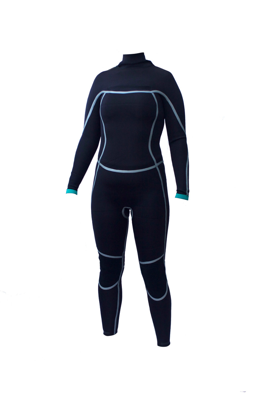 womens 3.2mm Yamamoto wetsuit inside